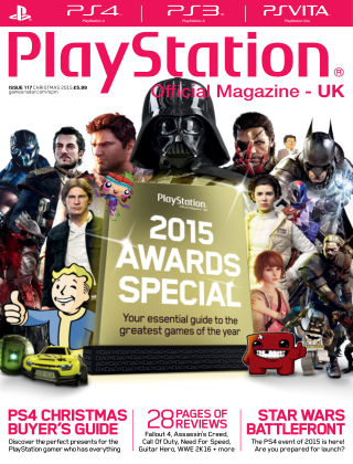 PlayStation Official Magazine (UK) Xmas 2015
