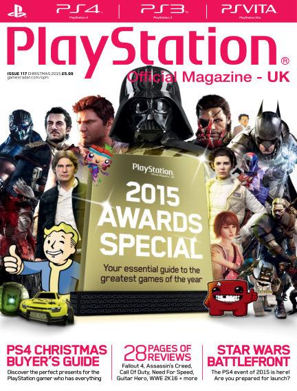 PlayStation Official Magazine (UK) November 20, 2015 00:00