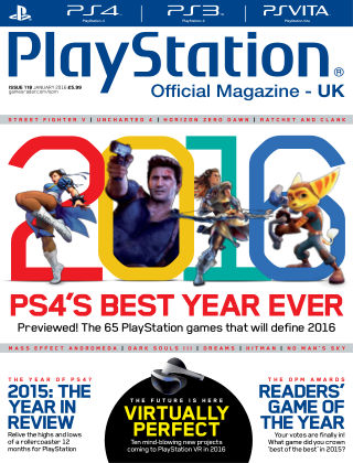 PlayStation Official Magazine (UK) January 2016