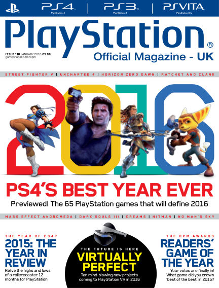 PlayStation Official Magazine (UK) December 18, 2015 00:00