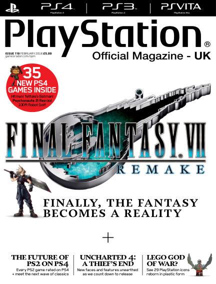PlayStation Official Magazine (UK) January 15, 2016 00:00