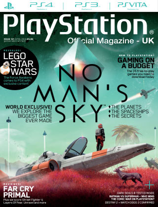 PlayStation Official Magazine (UK) April 2016