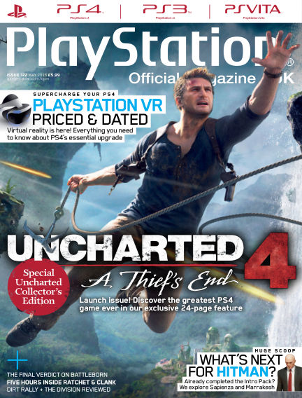 PlayStation Official Magazine (UK) April 12, 2016 00:00