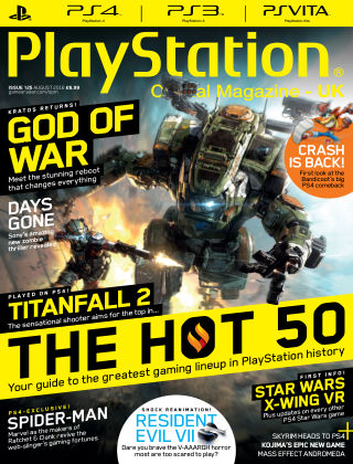 PlayStation Official Magazine (UK) August 2016