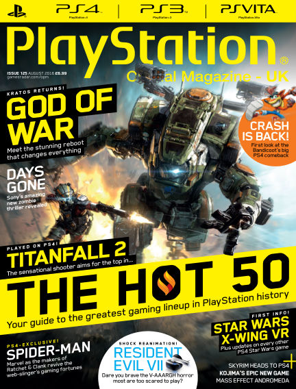 PlayStation Official Magazine (UK) July 05, 2016 00:00