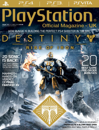 PlayStation Official Magazine (UK) October 2016
