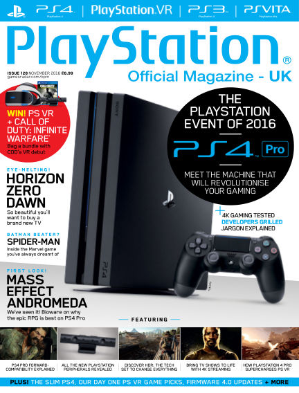 PlayStation Official Magazine (UK) September 27, 2016 00:00