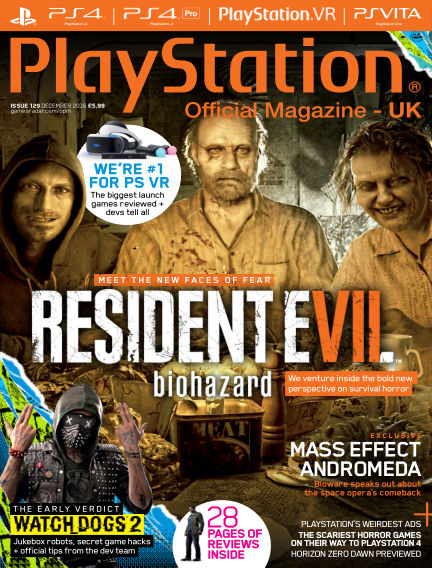PlayStation Official Magazine (UK) October 25, 2016 00:00