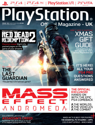 PlayStation Official Magazine (UK) Xmas 2016