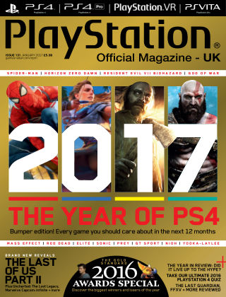 PlayStation Official Magazine (UK) January 2017