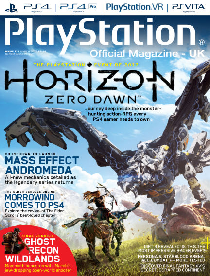 PlayStation Official Magazine (UK) February 14, 2017 00:00