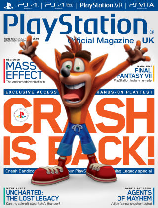 PlayStation Official Magazine (UK) May 2017