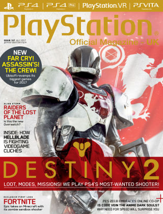 PlayStation Official Magazine (UK) Jul 2017