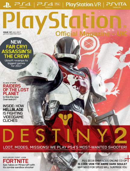 PlayStation Official Magazine (UK) June 08, 2017 00:00