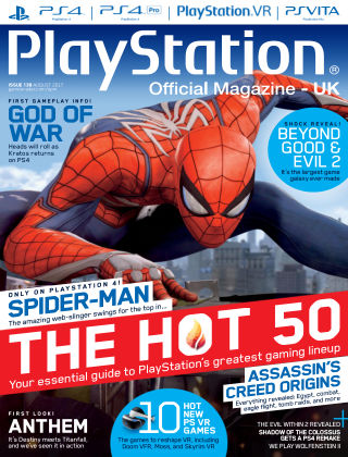 PlayStation Official Magazine (UK) Aug 2017