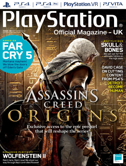 PlayStation Official Magazine (UK) August 01, 2017 00:00