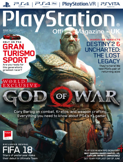 PlayStation Official Magazine (UK) August 29, 2017 00:00