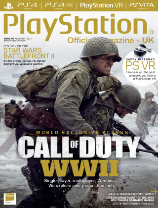 PlayStation Official Magazine (UK) Nov 2017