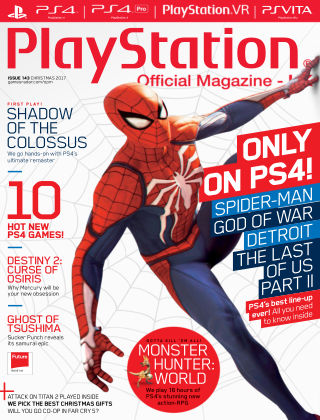 PlayStation Official Magazine (UK) Christmas 2017