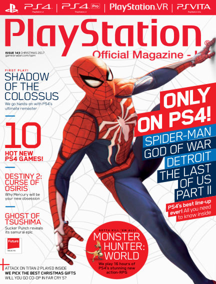 PlayStation Official Magazine (UK) November 21, 2017 00:00