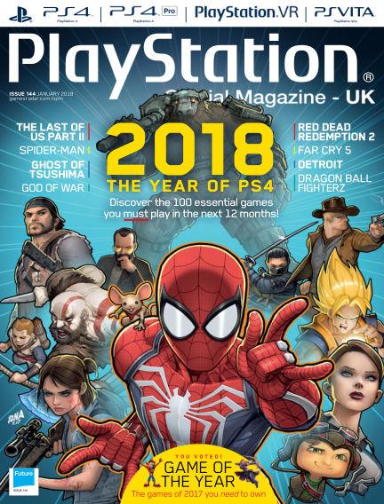 PlayStation Official Magazine (UK) December 19, 2017 00:00