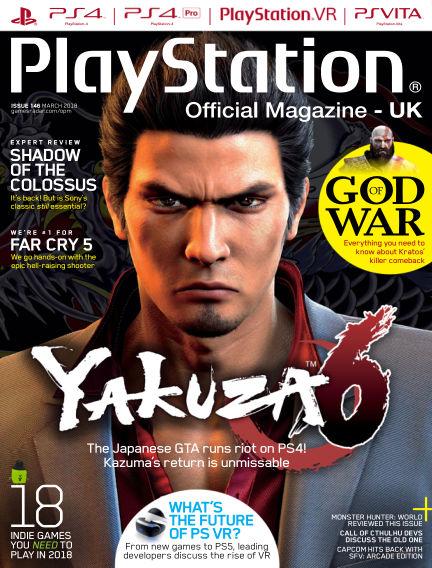 PlayStation Official Magazine (UK) February 13, 2018 00:00