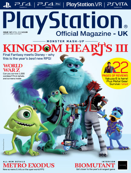 PlayStation Official Magazine (UK) March 13, 2018 00:00