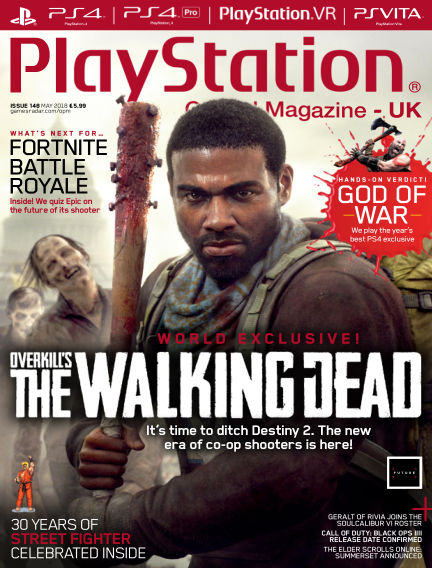 PlayStation Official Magazine (UK) April 10, 2018 00:00