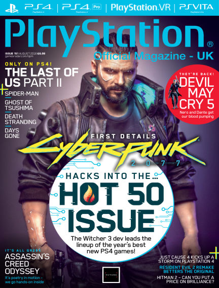 PlayStation Official Magazine (UK) July 03, 2018 00:00