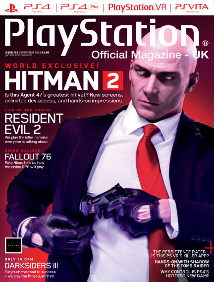 PlayStation Official Magazine (UK) July 31, 2018 00:00