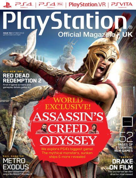 PlayStation Official Magazine (UK) August 28, 2018 00:00