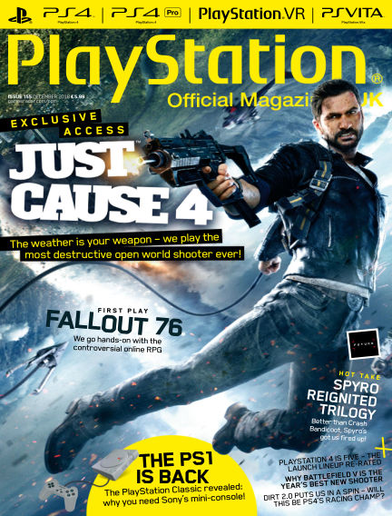 PlayStation Official Magazine (UK) October 23, 2018 00:00