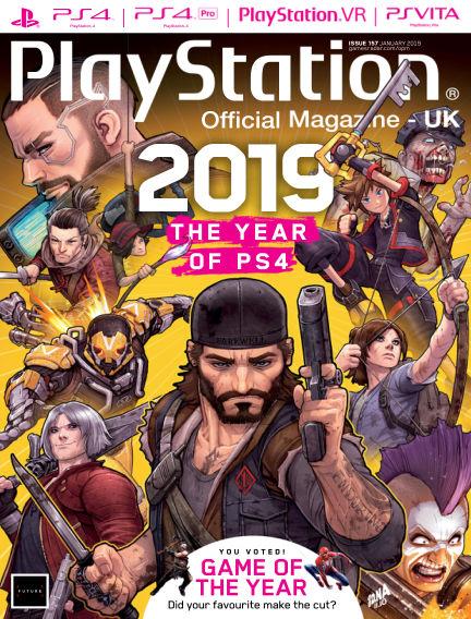 PlayStation Official Magazine (UK) December 18, 2018 00:00
