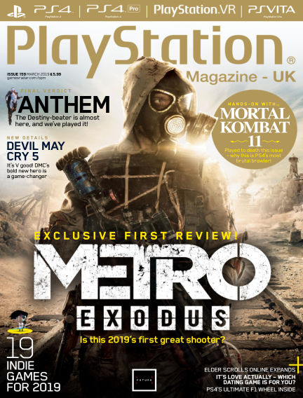 PlayStation Official Magazine (UK) February 12, 2019 00:00