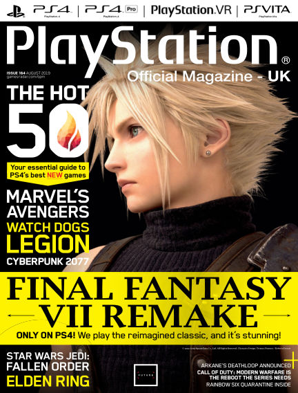 PlayStation Official Magazine (UK) July 02, 2019 00:00
