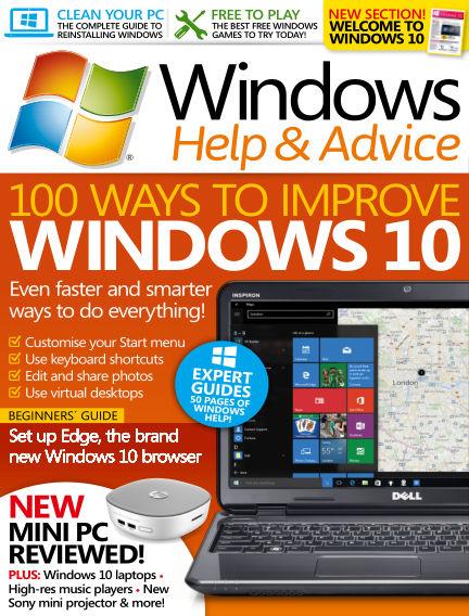 Windows Help and Advice November 20, 2015 00:00