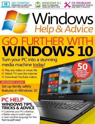 Windows Help and Advice January 2016