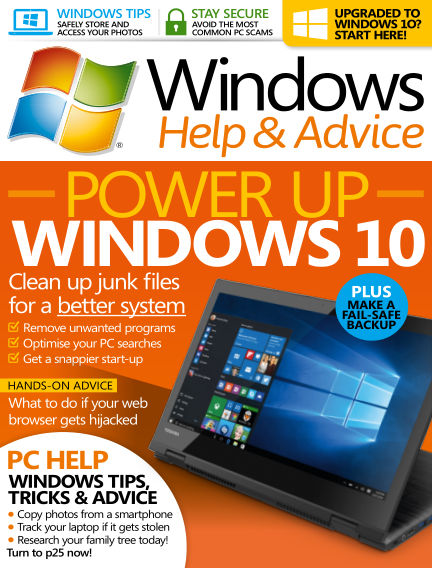 Windows Help and Advice April 06, 2016 00:00