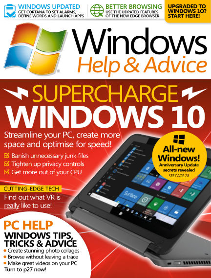 Windows Help and Advice August 19, 2016 00:00