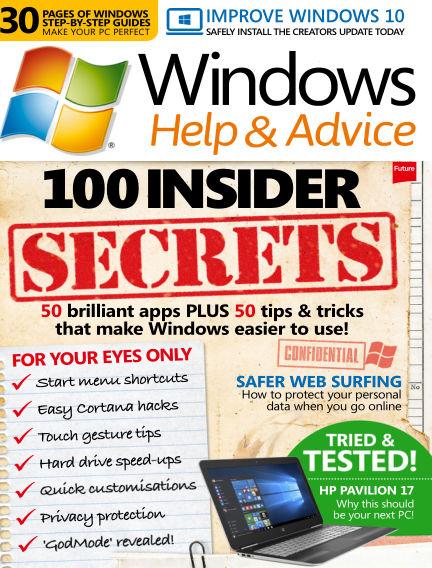Windows Help and Advice May 26, 2017 00:00