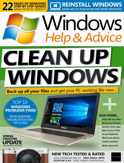 Windows Help and Advice May 25, 2018 00:00