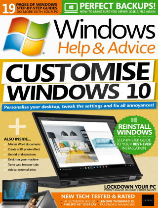 Windows Help and Advice Aug 2018