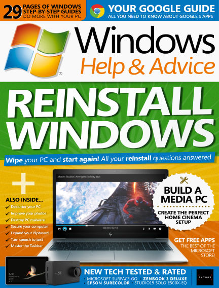 Windows Help and Advice September 14, 2018 00:00