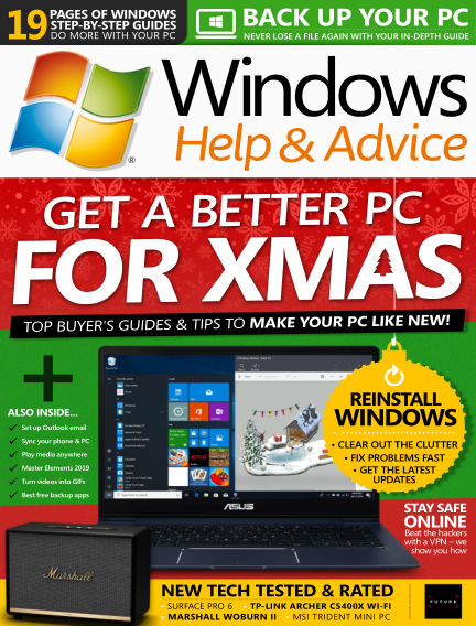 Windows Help and Advice December 07, 2018 00:00