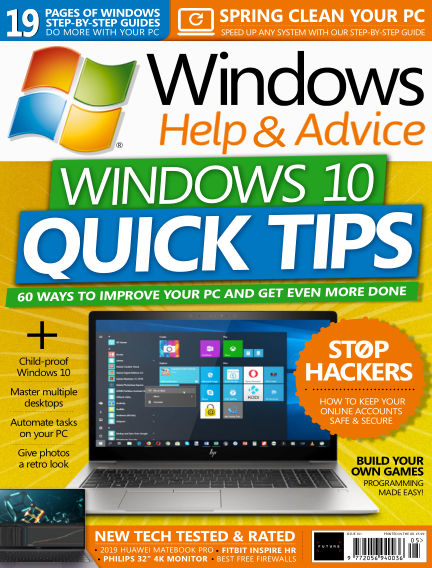 Windows Help and Advice April 26, 2019 00:00