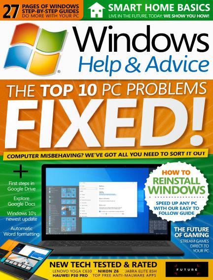 Windows Help and Advice July 19, 2019 00:00