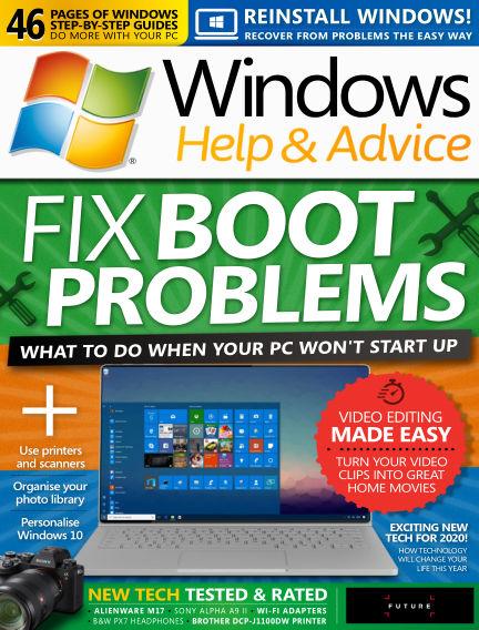 Windows Help and Advice January 31, 2020 00:00