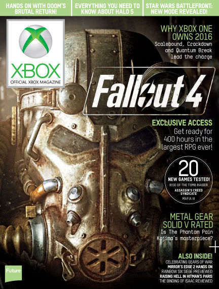 Official Xbox Magazine (US) September 15, 2015 00:00