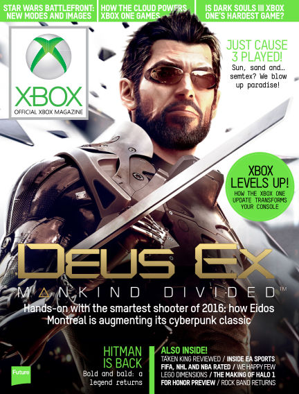 Official Xbox Magazine (US) November 10, 2015 00:00