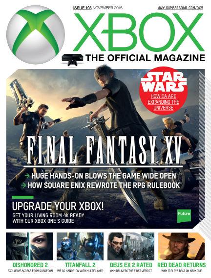 Official Xbox Magazine (US) September 13, 2016 00:00